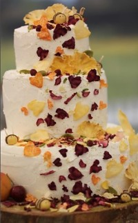Midsummer Night's Dream Cake from the Great British Baking Show